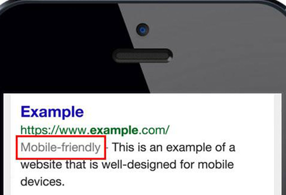 Google announces mobile friendliness as a major ranking factor on search results